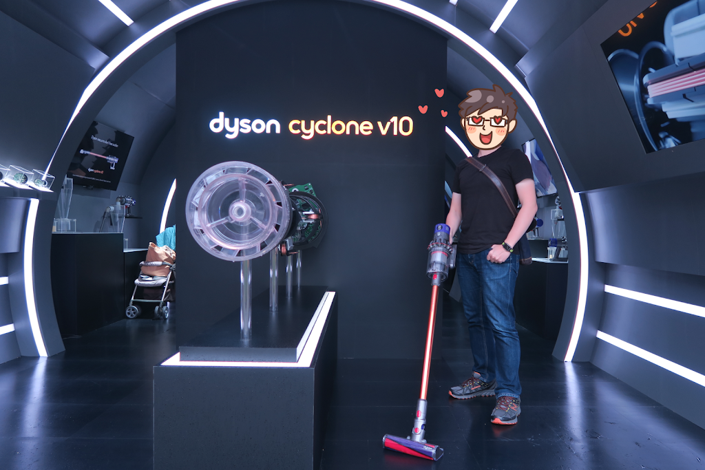 「Dyson cyclone v10 科技博物館」正於高雄展出中!