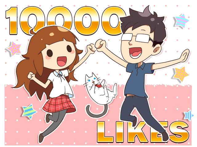 10000 Likes!