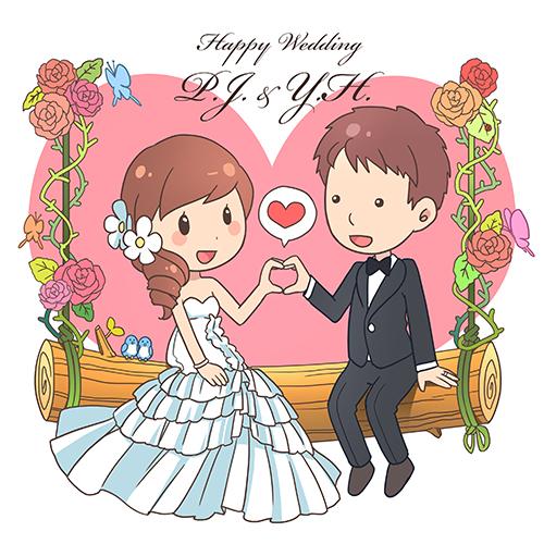 給遠方的婚禮祝福:)