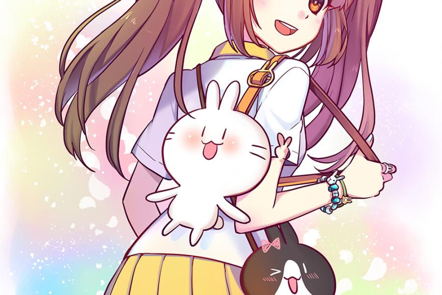 生日賀圖!祝不死兔生日快樂!